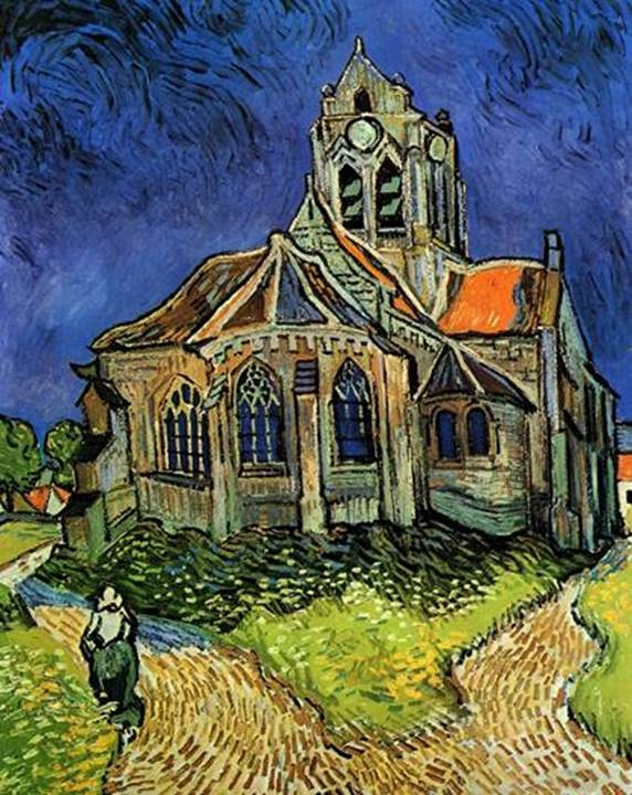 Image result for church at auvers
