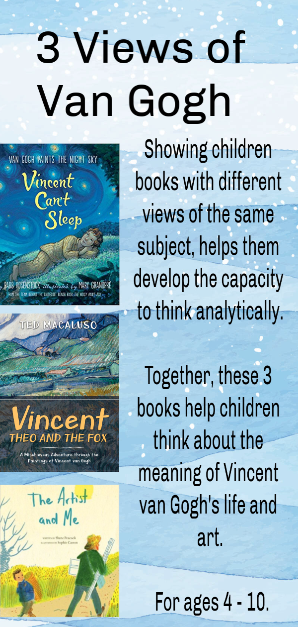 Three Views of Van Gogh for Children